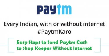 paytm without internet toll free number