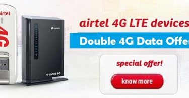 Airtel 4g double data offer 2017