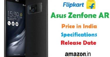 Asus Zenfone AR Price Specs Release Date