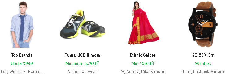 Flipkart Fashion Best Brands