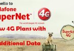 Latest Vodafone 4G Plans 2017