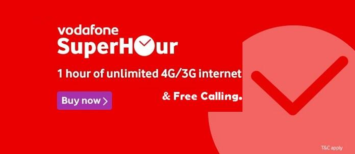 Vodafone Super Hour