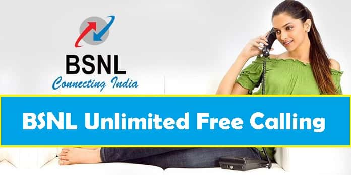 bsnl unlimited free calling 2017