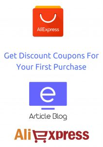How to get coupons aliexpress