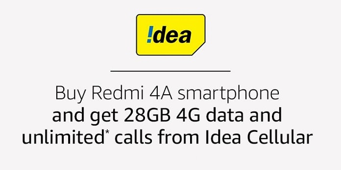 Redmi 4A Idea Offer