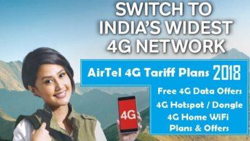 Airtel-4G-Plans-Free-Data-Offer-2018