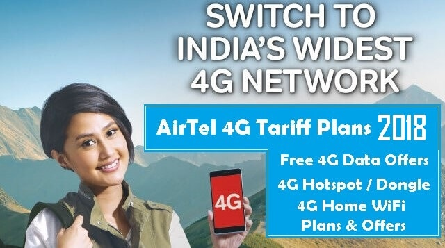 Airtel-4G-Plans-Free-Data-Offer-2018