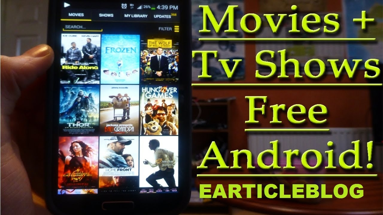 free movie and tv show apps for iphone