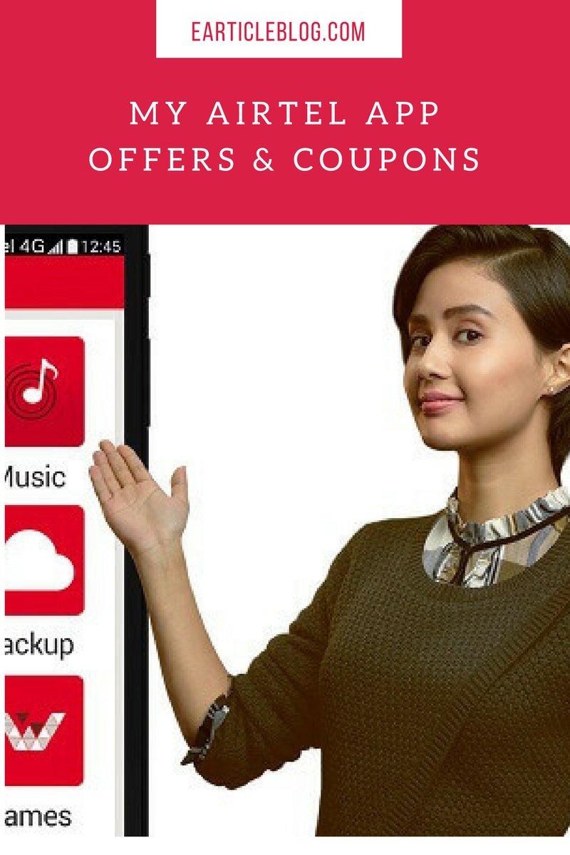 Discount coupons for airtel postpaid mobile bill payment