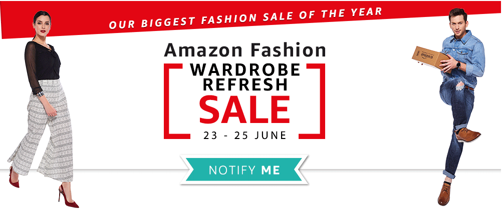 amazon fashion sale 23 june