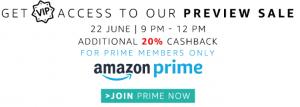 amazon prime vip access