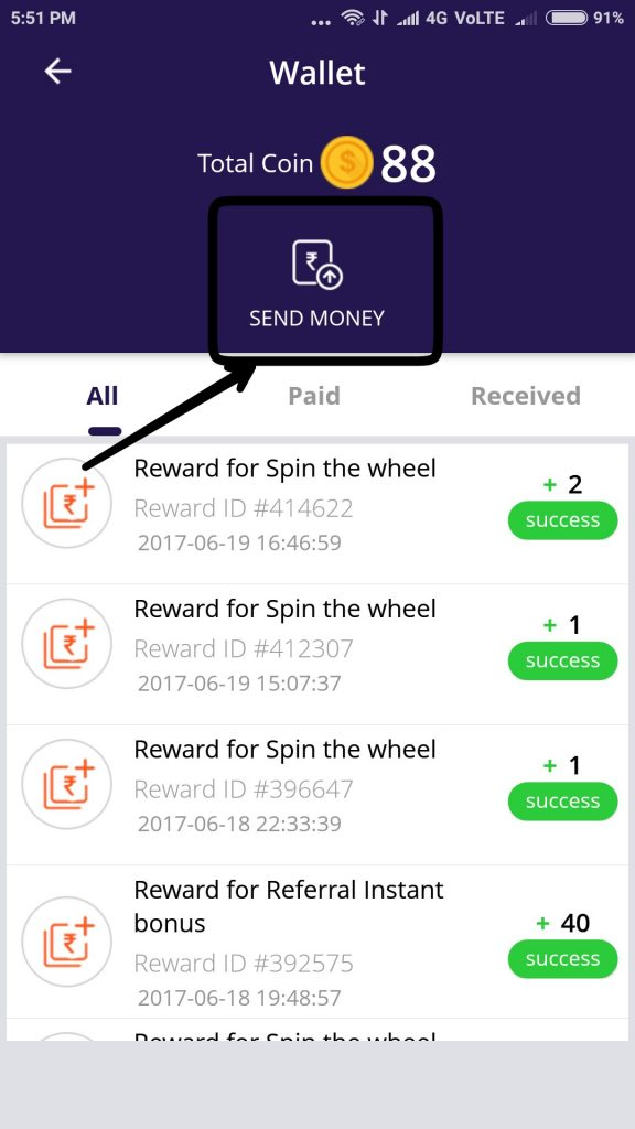 cash o cart app earn money online free paytm and paypal cash