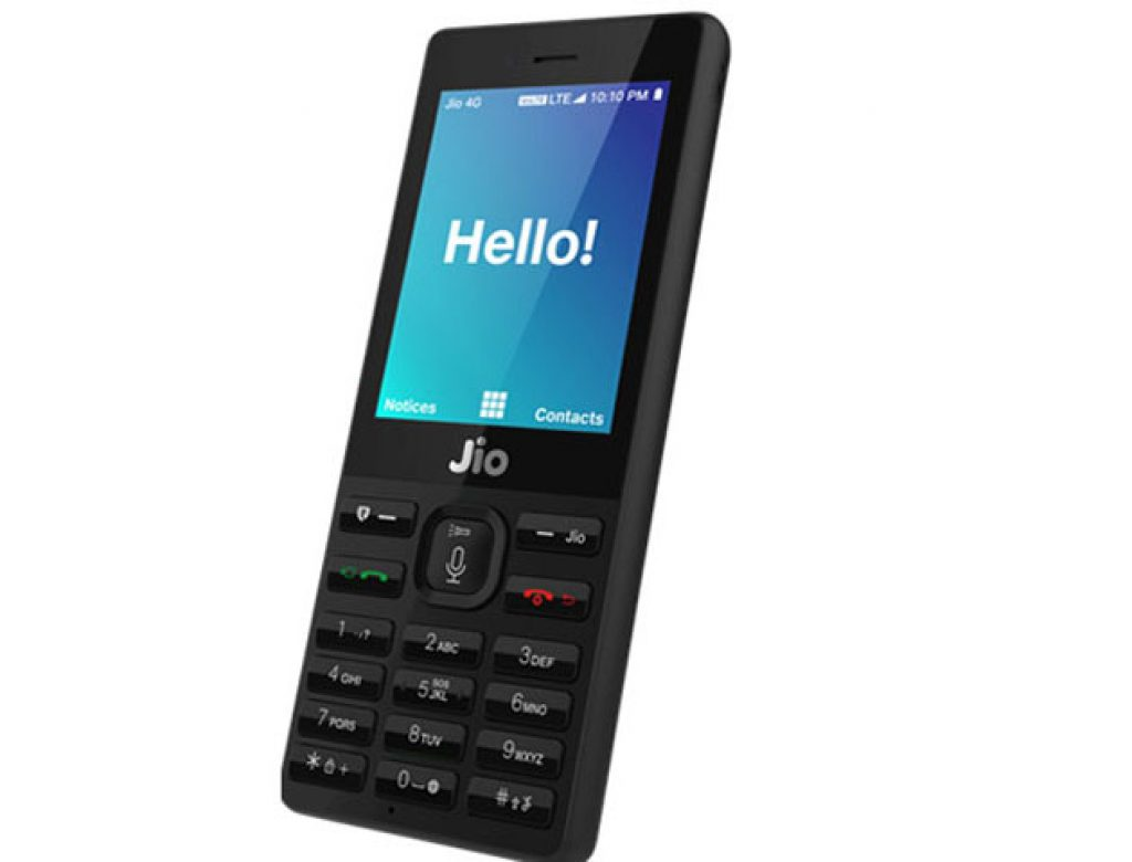 Jio 4G feature phone For Free