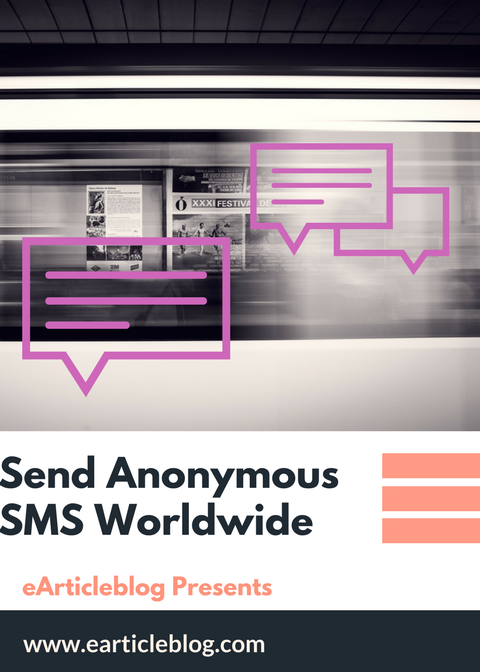 Free 100% Working SMS Trick - Send Text Message Online On Any Mobile