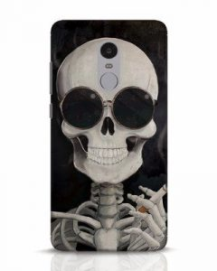 smoking-skull-xiaomi-redmi-note-4-mobile-cover-xiaomi-redmi-note-4-mobile-covers-1501133642