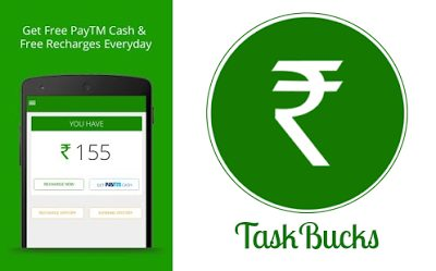 Free Paytm Cash taskbucks