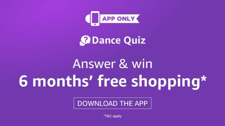 amazon dance quiz