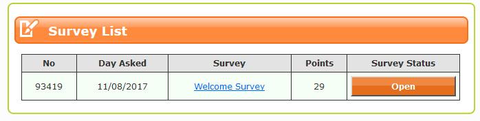 xcel survey loot