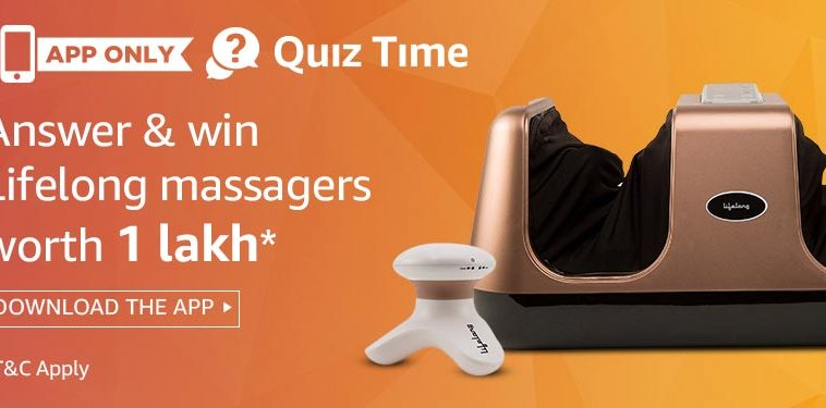 amazon lifelong quiz