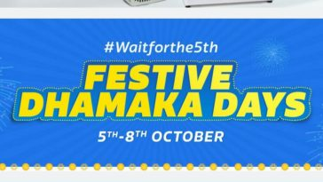 Flipkart Festive Dhamaka Days Offers and Deals