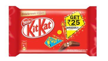Kit Kat Amazon Gift voucher Offer