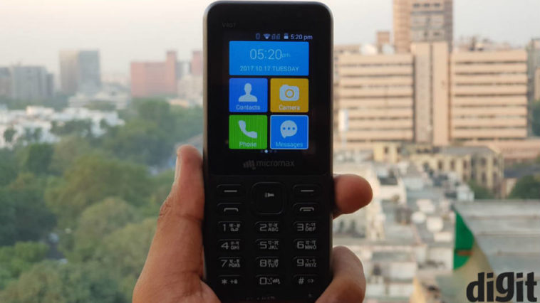 Micromax Bharat One 4G VoLTE feature phone