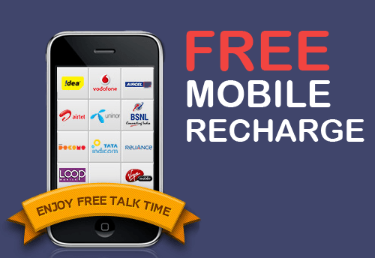 Free Recharge Tricks – Earn Daily Free Mobile Recharge