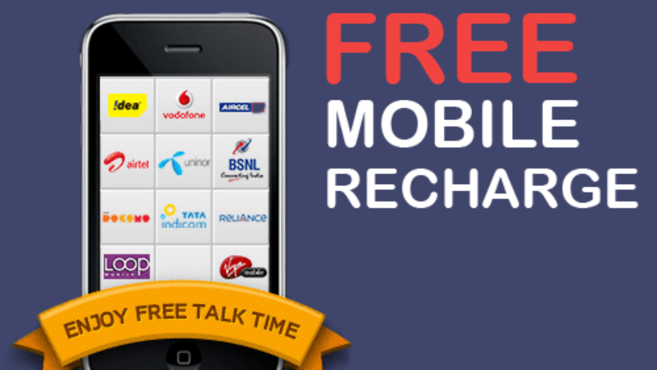 Free Recharge Tricks (Earn Rs-1000 Daily) | 100% Genuine (6 Tricks