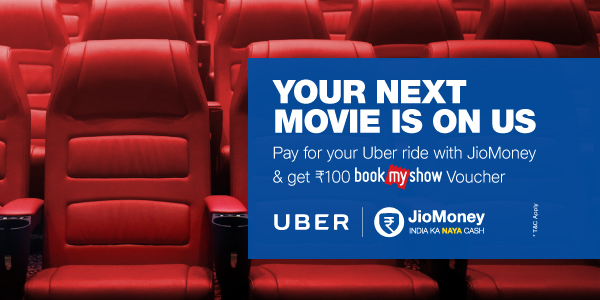 Uber & JioMoney Offer