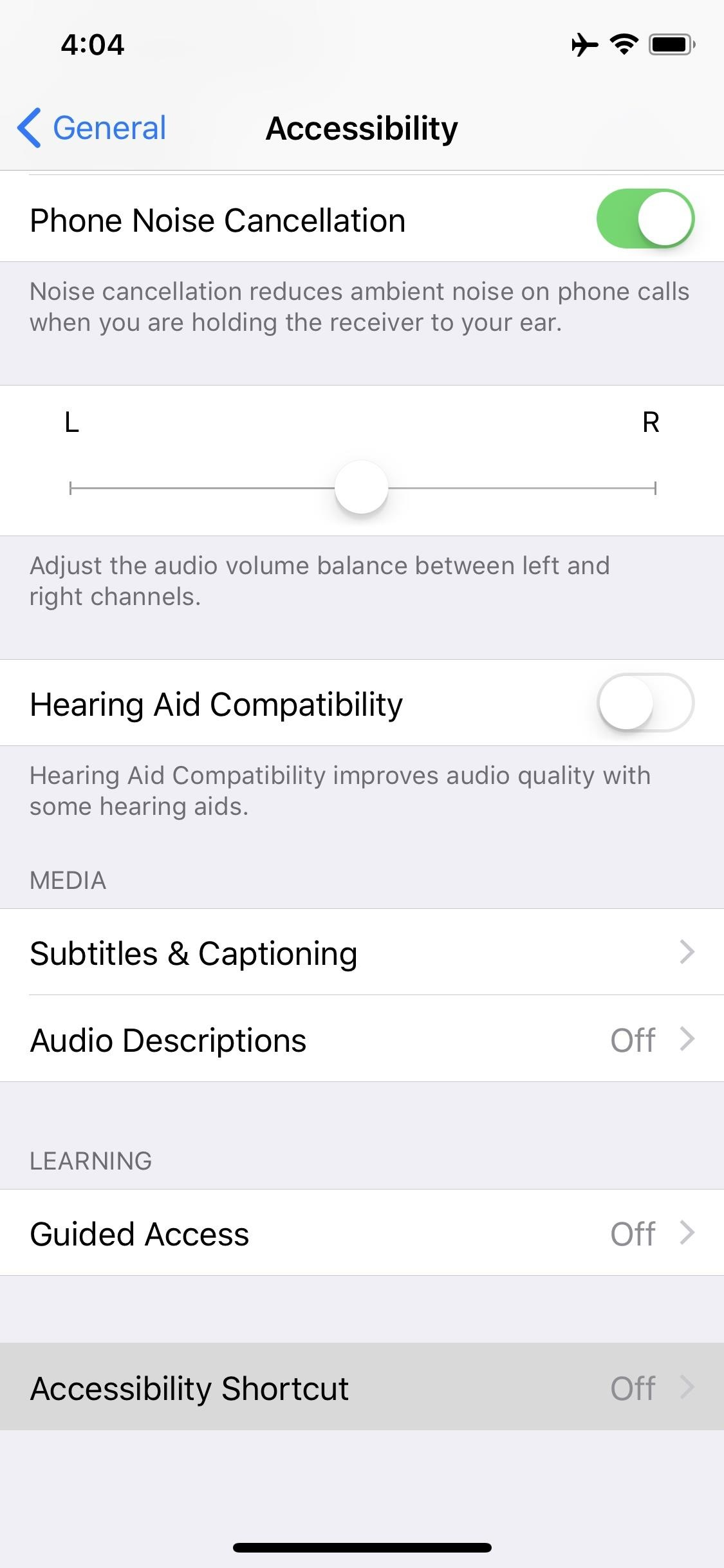 iPhone X home button accessibility Option