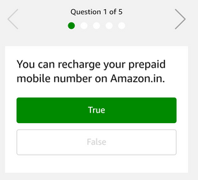 You can recharge your prepaid mobile number on Amazon.in.
