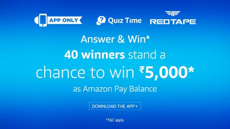 amazon red tape app quiz