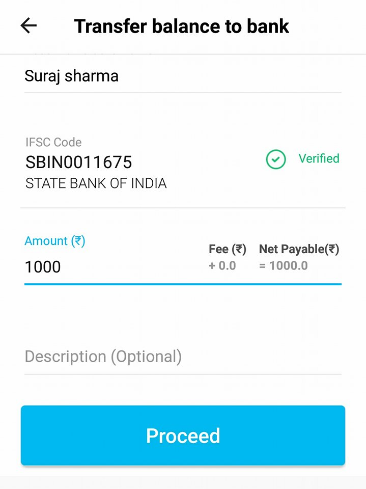 Paytm Merchant account proof