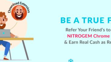 Nitrogem Refer and Earn