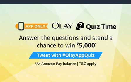 OLAY QUIZ Contest answers