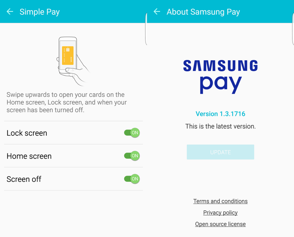 SAMSUNG PAY APP OFFER