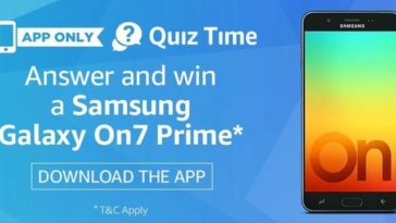 Amazon On7 Prime Quiz