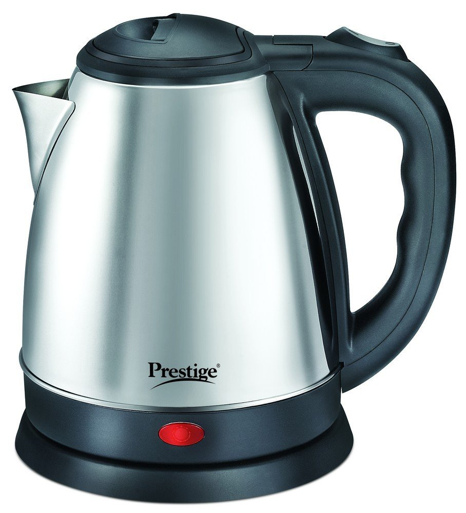 Prestige PKOSS 1.2-Litre Electric Kettle (Silver)