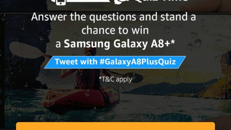 SAMSUNG GALAXY A8+ QUIZ