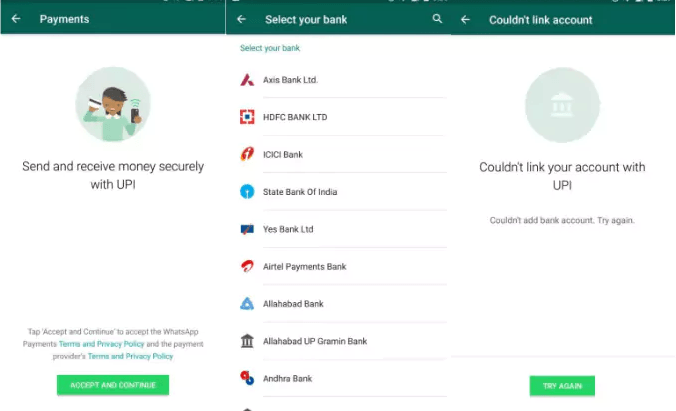 Whatsapp Payment Feature India