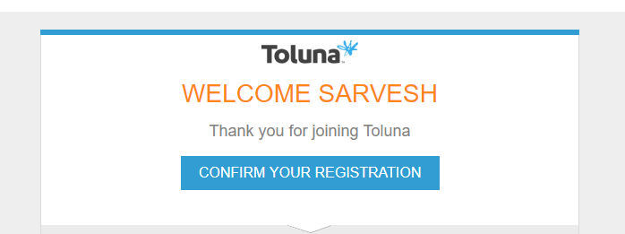 Toluna Survey India email verify