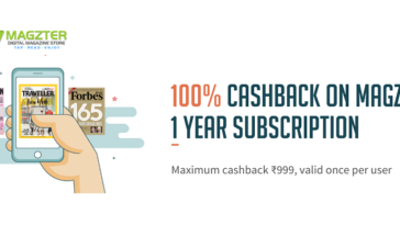 Freecharge Magzter Offer