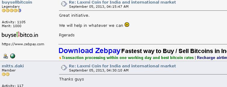 Laxmi Coin Price