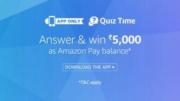 amazon super Value Quiz