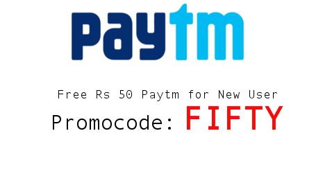 PayTM FIFTY Recharge Offer: Get Rs. 50 Discount On Doing Recharges!