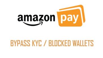 Amazon Pay bypass kyc