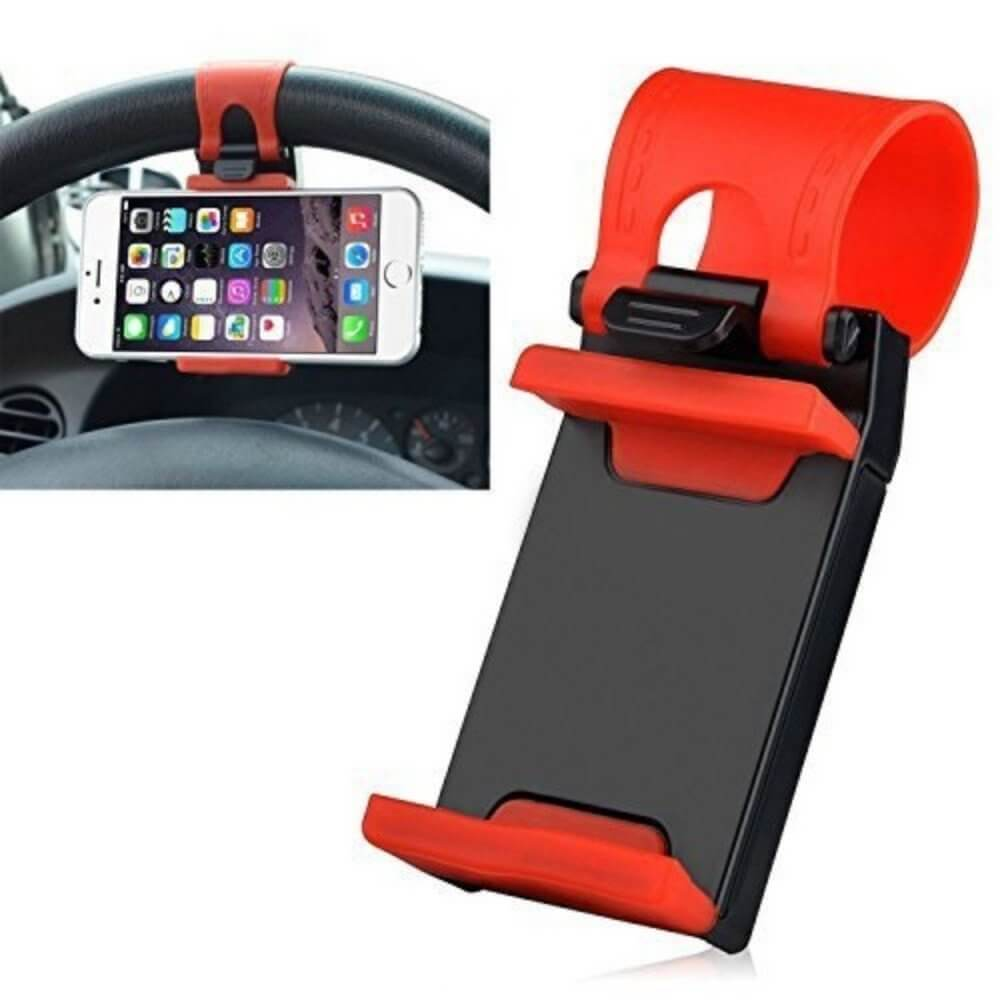 Voltac 54-76mm Car Steering Wheel Mobile Holder (Multi-color) Pattern#145895
