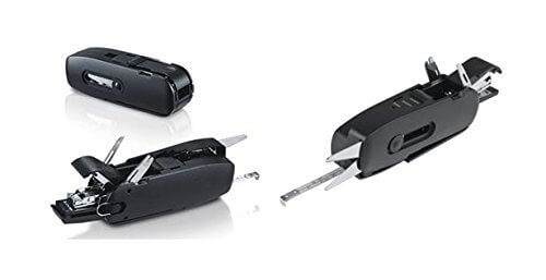 Unique Gadget 10 in 1 Office Combo Toolkit Scissors Measurig Tape Stapler Opener Punch Ruler