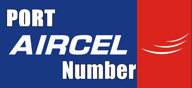 How To Port Aircel Mobile Number To Other SIM Network
