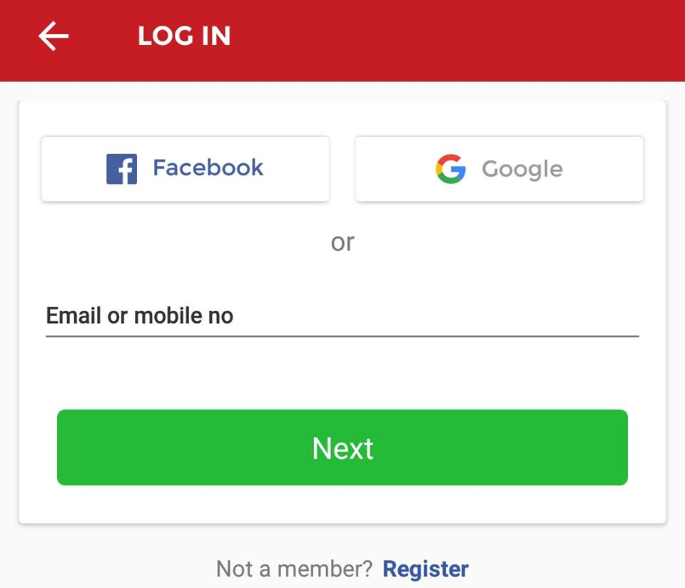 dream11 login without phone number